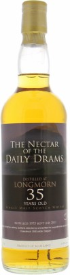 35 Years Old Daily Dram 50.8%Longmorn -