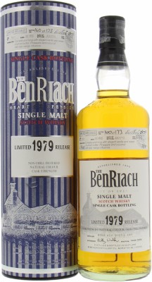 30 Years Old Single Cask Bottling Batch 7 Cask 7511 47.9%Benriach -