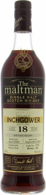 Inchgower - 18 Years Old The Maltman Cask 197711 50.1% 2001