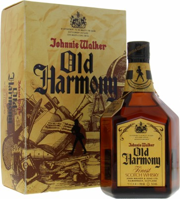 Old Harmony 43%John Walker & Sons -