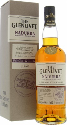Glenlivet - Nàdurra Oloroso Matured Batch OL0516 60.4% NV