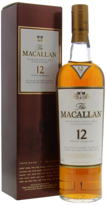 12 Years Old Sherry Oak 40%Macallan -