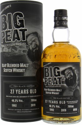 Douglas Laing - Big Peat 27 Years Old The Black Edition 48.3% 1992