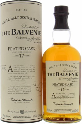 17 Years Old Peated Cask 43%Balvenie -