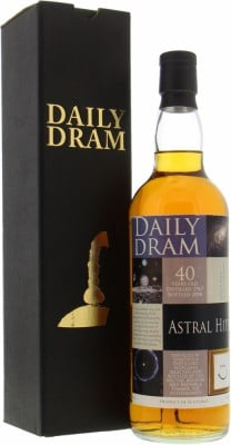 Strathisla - 40 Years Old Daily Dram Astral Hits Cask 1532 47.2% 1967