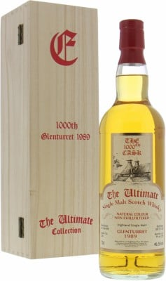 Glenturret - 30 Years Old The Ultimate 1000th 46.5% 1989
