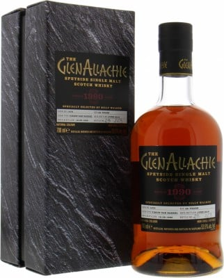 Glenallachie - 28 Years Old Single Cask 1470 53.5% 1990