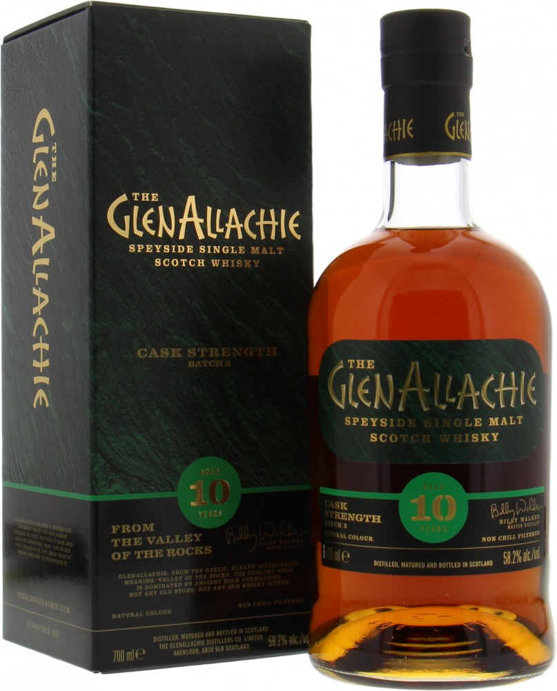 Glenallachie - 10 Years Old Cask Strength Batch 3 58.2% NV