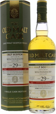 Miltonduff - 29 Years The Old Malt Cask HL16260 50% 1990