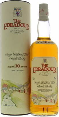 Edradour - 10 Years Old Label 40% NV