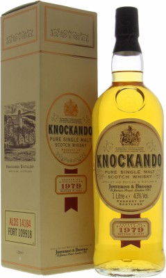 Knockando - 1979 Justerini & Brooks 40% 1979