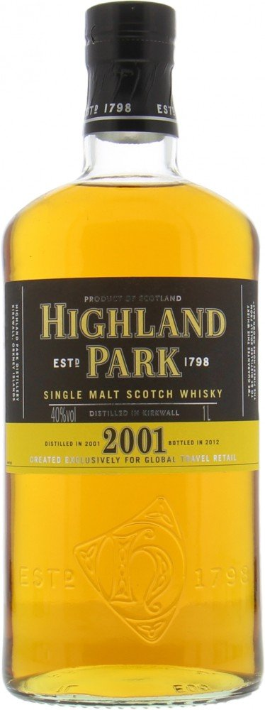 Highland Park - 2001 Vintage for Travel Retail 40% 2001
