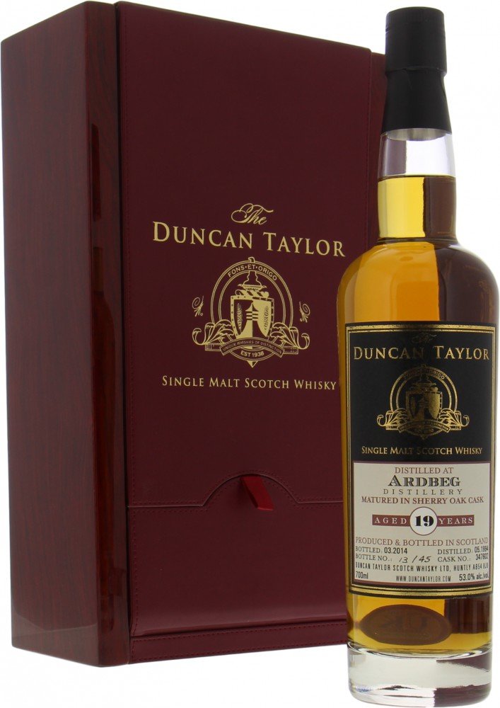 Ardbeg - 19 Years Old The Duncan Taylor Single Cask 347602 53% 1994