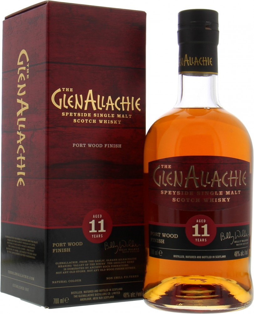 Glenallachie - 11 Years Old Port Wood Finish 48% NV