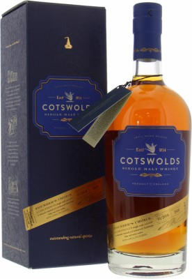 Cotswolds Distillery - Founder's Choice Batch 01/2018 60.9% NV