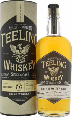 Teeling - 16 Years Old Single Cask Abafado Casks Finish 55.2% 2003