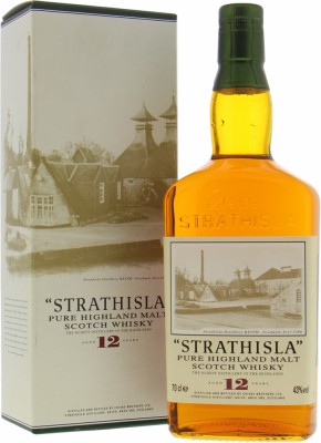 Strathisla - 12 Years Old Pure Highland Malt 43% NV