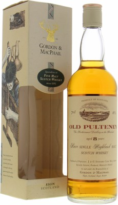 Old Pulteney - 8 Years Old Gordon & MacPhail Rare Single Highland Malt 40% NV
