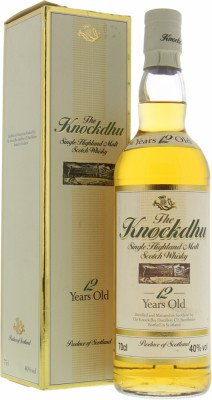 Knockdhu - 12 Years Old Single Highland Malt 40% NV
