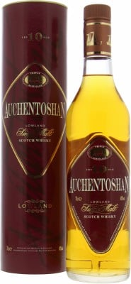 Auchentoshan - 10 Years Old Triple Distilled Kite Shaped Label 40% NV