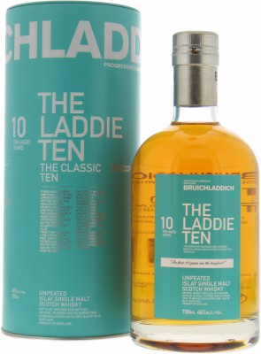 Bruichladdich  - 10 Years Old The Laddie Ten 50% NV