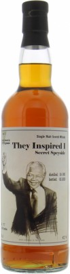 Speyside Region - 26 Years Old Secret Speyside M.Wigman They Inspired Edition No.3 Mandela 47.7% 1993
