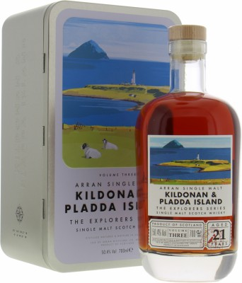 Arran - The Explorer Series Kildonan & Pladda Island 50.4% NV