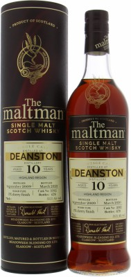 Deanston - 10 Years Old The Maltman Single Cask 16902 55.1% 2009