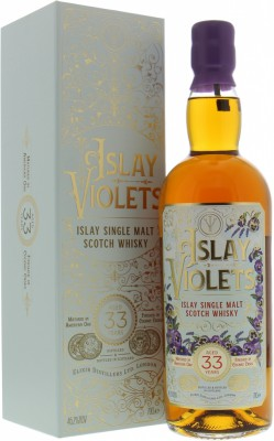 Elixer Distillers - 33 Years Old Islay Violets 46.2% NV