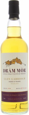 Glen Garioch - 8 Years Old Dràm Mòr Cask 2698 58.4% NV