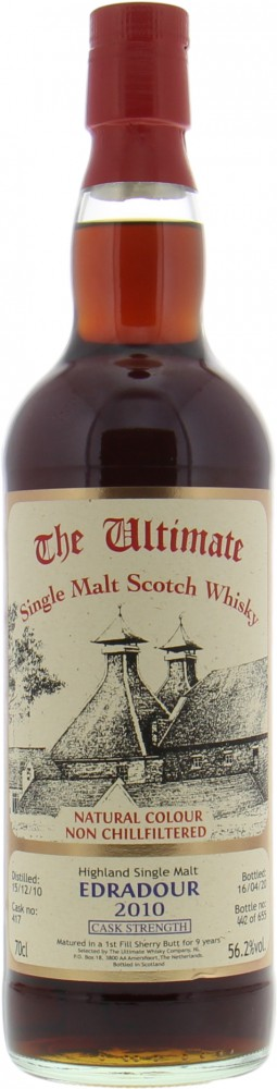Edradour - 9 Years Old The Ultimate Cask Strength Cask 417 56.2% 2010