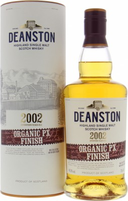 Deanston - 17 Years Old Organic Pedro Ximinez Finish 49.3% NV