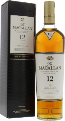 Macallan - 12 Years Old Sherry Oak Casks 40% NV
