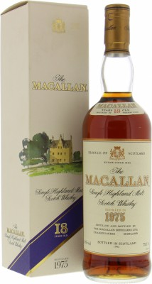 Macallan - 18 Years Old Viante 1975 43% 1975