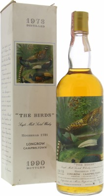 Longrow - Moon Import The Birds Cask 1731 46% 1973