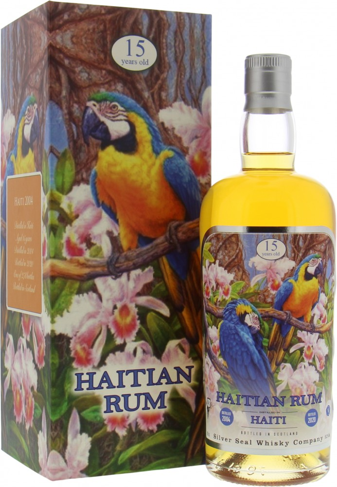 Silver Seal - Haitian Rum 15 Years Old Cask 79 51.2% 2004