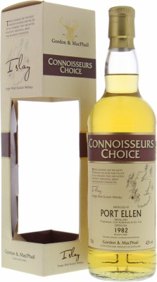Port Ellen - 1982 Gordon & MacPhail Connoisseurs Choice 27 Years Old 43% 1982