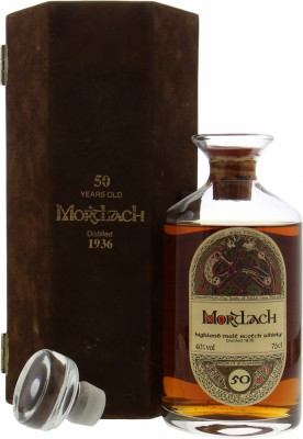 Mortlach - 1936 Gordon & MacPhail 50 Years Old Book of Kells 40% 1936