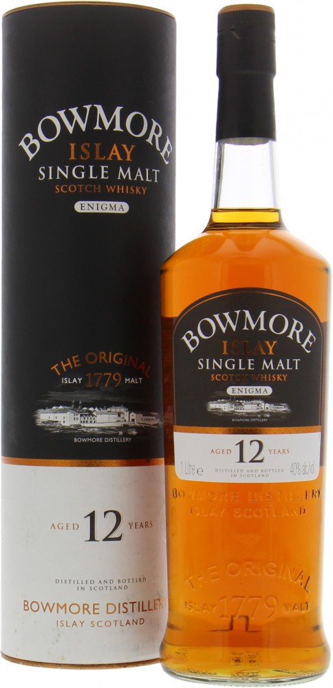 Bowmore - Enigma 12 Years Old New Label 40% NV