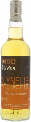 Clynelish - 15 Years Old Bottled For Whisky in Leiden 2012 Cask 3394 53.5% 1997