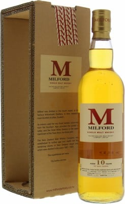 Willowbank - Milford 10 Years Old Limted Edition Batch IM40 43% 1991