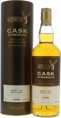 Caol Ila - 10 Years Old Gordon & MacPhail Cask Strength Casks 306183+4, 306186+7 60.2% 2006