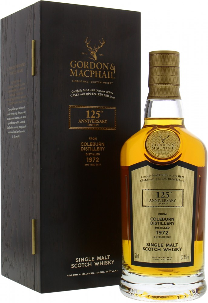 Coleburn - 47 Years Old Gordon & MacPhail 125th Anniversary Edition Cask 3511 62.4% 1972
