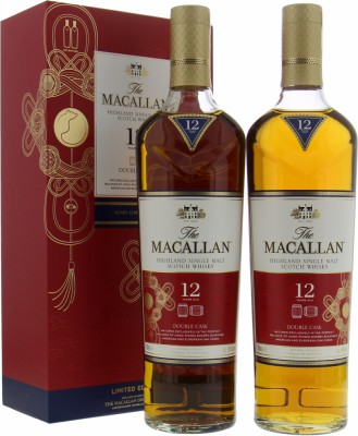 Macallan - 12 Years old Limited Edition Year of the Rat Giftset 40% NV