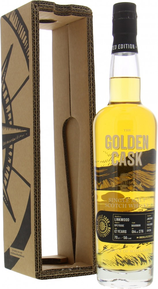 Linkwood - 13 Years Old The Golden Cask Reserve Cask CM256 56% 2007