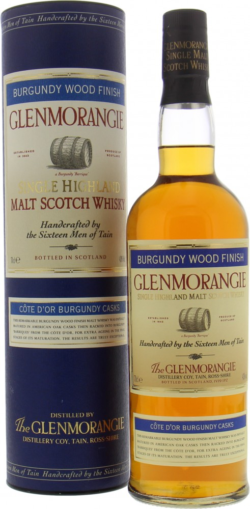Glenmorangie - Burgundy Wood Finish 43% NV