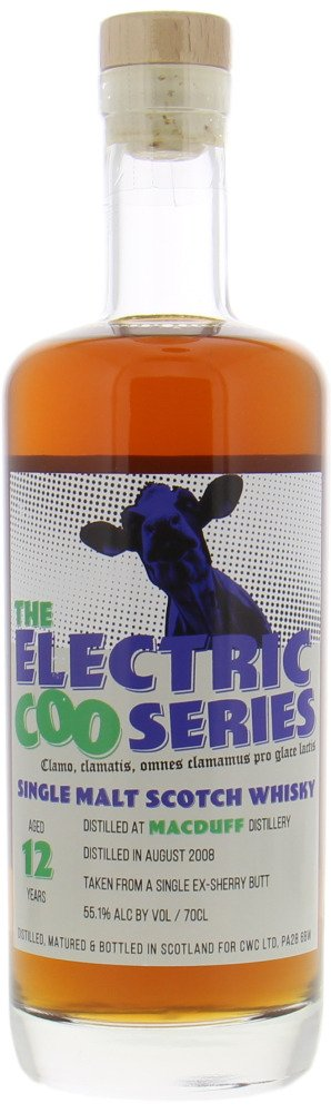 Macduff - 12 Years Old Campbeltown Whisky Company The Electric Coo Series 55.1% 2008