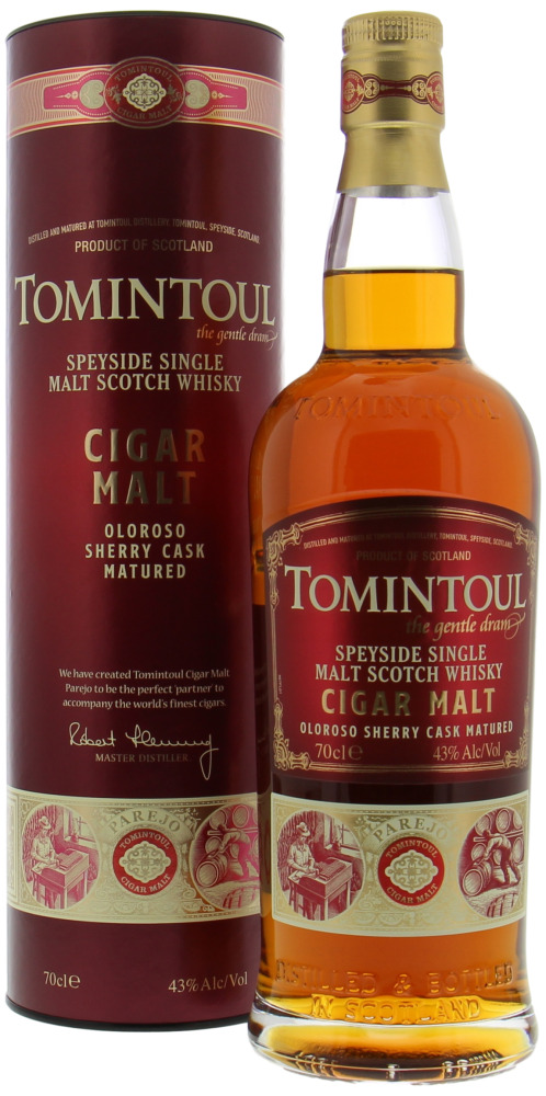 Tomintoul - Cigar Malt 43% NV