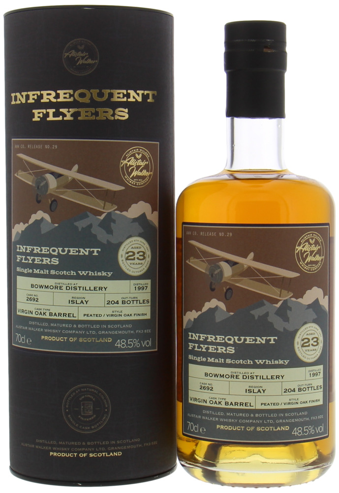 Bowmore - 23 Years Old Infrequent Flyers Cask 2692 48.5% 1997