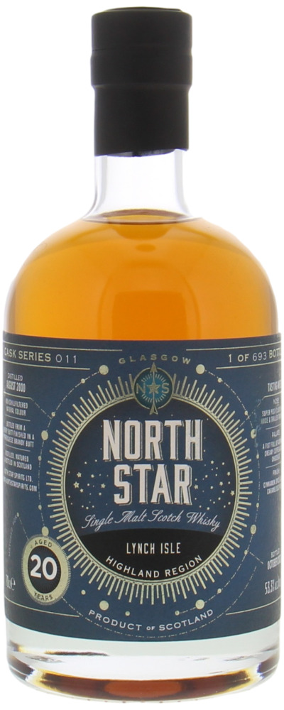 Clynelish - 20 Years Old Lynch Isle North Star Spirits Cask Series 011 53.3% 2000
